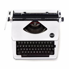 Maquina De Escreve Nova Wer Branca - Design Retro