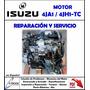 Manual Taller Motor Isuzu Dmax 4ja1 - 4jh1-tc En Español