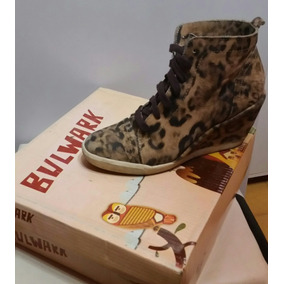Botitas,zapatillas Taco Chino,bulwark