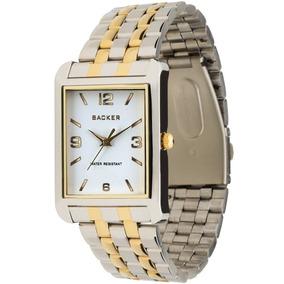 Relógio Masculino Backer 3038164g Br Meppen Misto