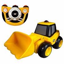 Trator Cat Controle Remoto Caterpillar Wheel Loader - Dtc