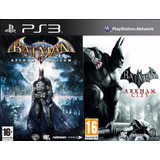 Batman Arkham City + Asylum Ps3