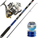 Equipo Pesca Variada Caña Icaro 2.70+ Reel Century 402 Envio