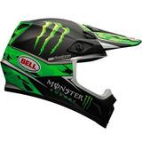 Capacete Bell Mx-9 Monster 60 Motocross, Trilha