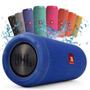 Dock Station Jbl Flip 3 Bluetooth Cx Som Microfone Embutido
