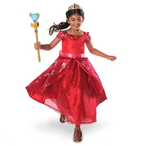 Disfraz Gala Elena De Avalor Disney Store Vestido Lujo
