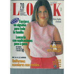 Revista Look Nro 65 Febrero De 1997 Tapa Nancy Duplaa