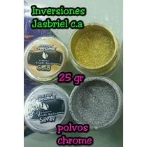 Polvos Chrome Efecto Espejo Para Uñas