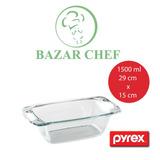 Pyrex - Budinera Easy-grab Vidrio Templado - Bazar Chef