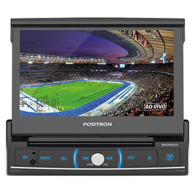 Stereo Auto Pst Positron Sp6720 Bluetooth Tv Dvd Pantalla
