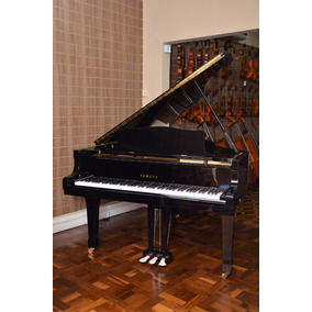 Piano 1/2 Cauda 186cm Yamaha G3 Seminovo Envio P/todo Brazil