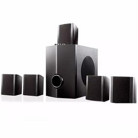 Home Theater Multilaser Sp087 5.1 Bivolt Pc Tv Caixa Som