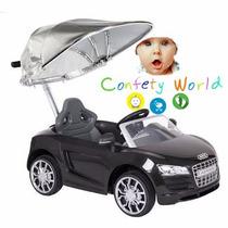 Audi Montable Push Car Prinsel Negro
