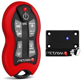 Controle Longa Distância Stetsom Sx2 500 Metros Vermelho