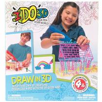Ido3d Conjunto 4 Canetas Desenhe Crie E Imprima 3d Multikids
