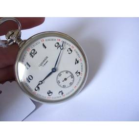 7adeb52576d51   Relógio De Bolso Mentor Maria Fumaça Estrada De Ferro   - Relógios ...