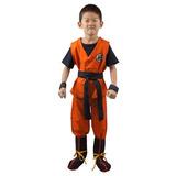 Disfraz Traje Cosplay De Goku De Dragon Ball Hijo De Miccos