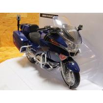 Moto Bmw 1:12 Carabinieri Marca New Ray De Colección