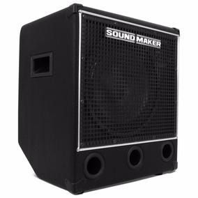 Caixa P/ Contra Baixo Amplificada Profissional Sound Maker
