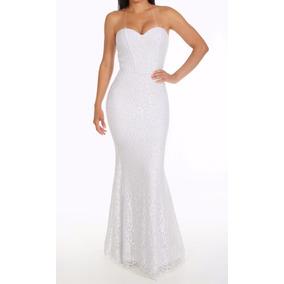 Vestido Renda Longo Noiva Sereia, Tomara Que Caia D003