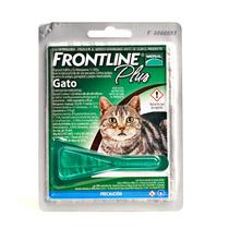 Frontline Plus Gatos Para Eliminar Pulgas Y Garrapatas +kota