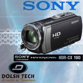 Sony Handycam Hdr-cx190 Full Hd 1080 Zoom 25x Zeiss Hdmi