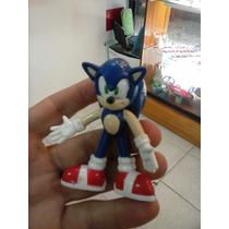 Sonic Figura De 4cm (azul) Y Shadow (negro)