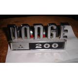 *-* Dodge 200 Insignia Lateral Camioneta Original Unica !!!