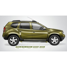 Estribo Renault Duster 2013 2014 2015 2016 Cor Original