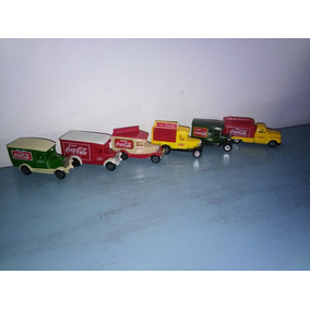 Auto A Escala / Coca-cola Colección (x 6 Unid)