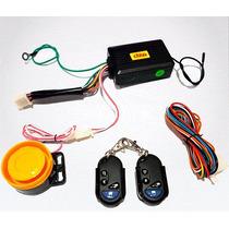 Alarma Dze 2 Controles Con Arranque A Distancia - Sti Motos