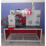 Máquina Impressora Flexográfica Banda Estreita 160mm 4 Cores