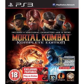 Mortal Kombat 9 Complete Edition + Dlc + Kratos +freddy Ps3