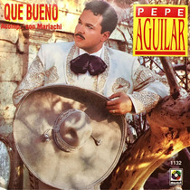 Cd Pepe Aguilar Que Bueno Con Mariachi