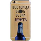 Capa Case Tudo Começa Depois De Uma Beats Iphone 4/4s