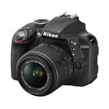 Nikon D3300 24.2 Mp Cmos Digital Slr Con Enfoque Automático