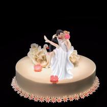Muñecos Torta Casamiento Adorno Pareja Novios Muñecos Torta