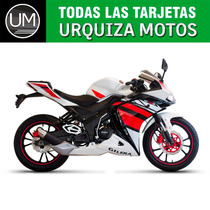 Moto Gilera Vc 200 R 200r 12 Y 18 Cuotas 0km Urquiza Motos