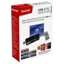 Capturadora+sintonizadora Tv Analoga, Digital Kworld Ub445-u