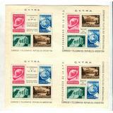 Argentina 1939 Gj Hb 6 Bloque Nuevo Con Goma Tonalizada U$65