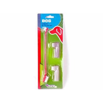 Conjunto Escovas De Dentes Pet (3 Pcs)
