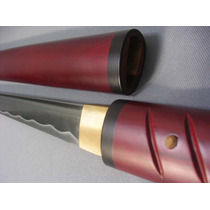 Espada Zatoichi Fulltang Filo Maximo Incluye Base Y Funda