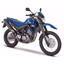 Capa De Banco Yamaha Xt 660r Preta Com Azul 2005 À 2016
