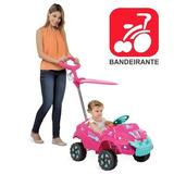 Veículo Passeio Bebê Carrinho Infantil Kidcar Criança Menina