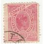 Selo Antigo - Brasil - Correio - 1908 - 100 Réis - Ab
