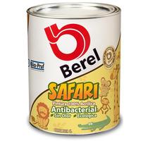 Berel Safari Pintura Antibacterial 100% Acrilica 4lt
