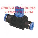 Conexão Rápida Hand-valve (válvula De Bloqueio) T-6mm