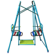 Hamaca Infantil Gemela Doble Colores Tubular 1,75 X 1,44