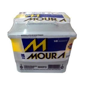Bateria Moura Ford Ka, Fiesta, Courrier, Celta, 18 Mês De Ga