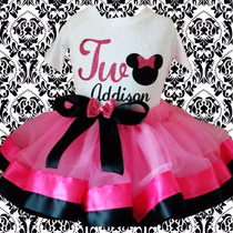 Tutu Minnie Mouse Tutus Con Liston Frozen Sofia Kitty